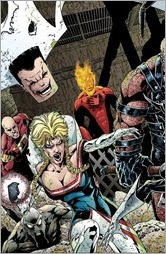 Leaving Megalopolis: Surviving Megalopolis #1 Cover