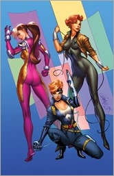 A-Force #1 Cover - Campbell Marvel '92 Variant