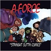 A-Force #1 Cover - Hughes Hip-Hop Variant