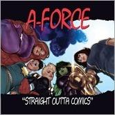 A-Force #1 Cover - Hughes Hip-Hop Variant