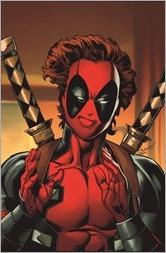 Captain Marvel #1 Cover - Bagley Deadpool Variant