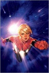 Captain Marvel #1 Cover - Hughes Variant
