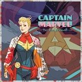 Captain Marvel #1 Cover - Sauvage Hip-Hop Variant