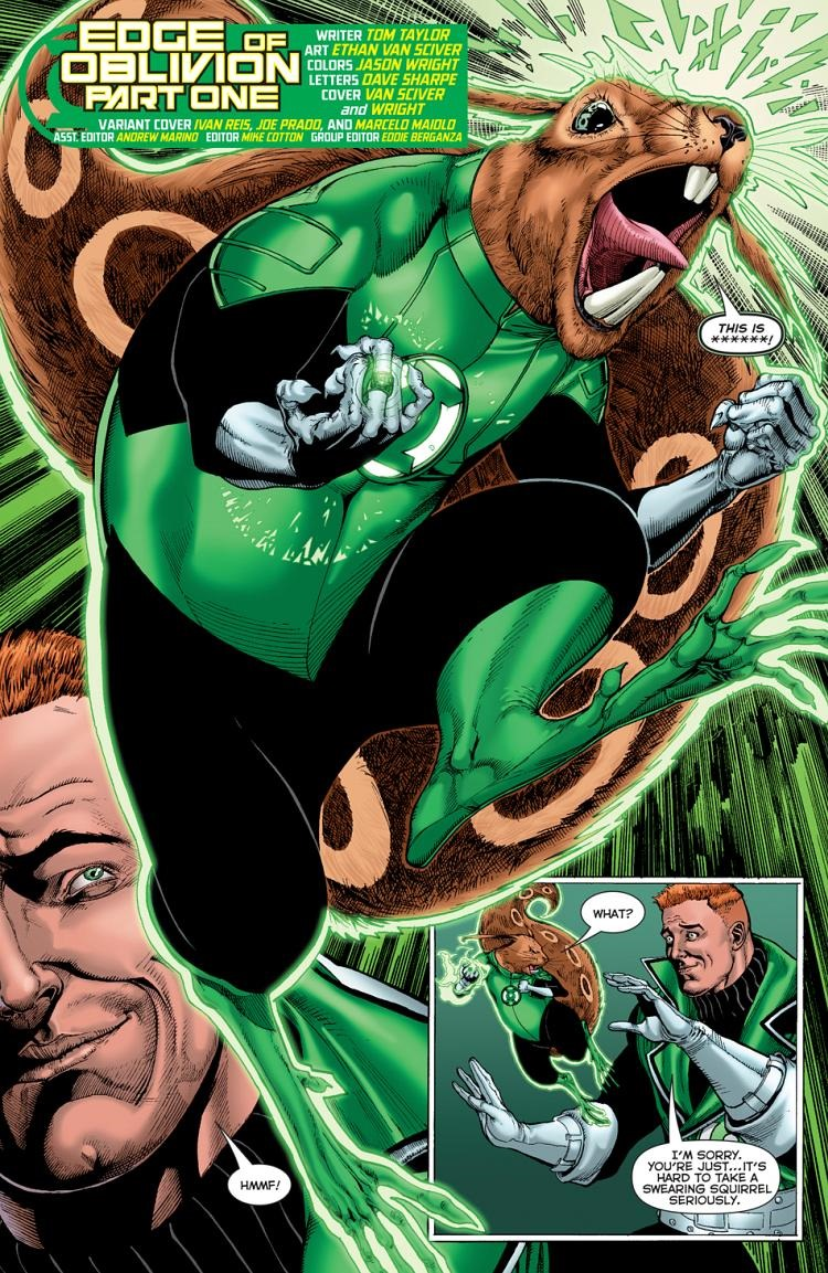 Preview Green Lantern Corps Edge Of Oblivion 1