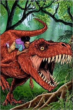 Moon Girl and Devil Dinosaur #5 Cover - Guerra Women of Power Variant