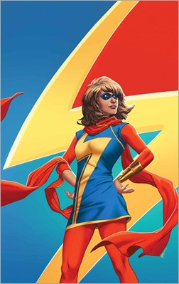 Ms. Marvel #5 Cover - Lupacchino Women of Power Variant