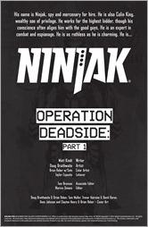 Ninjak #10 Preview 1