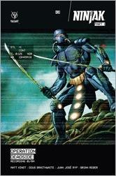 Ninjak #10 Cover A - Braithwaite