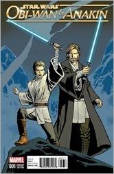 Obi Wan And Anakin #1 Cover - Nowlan Variant