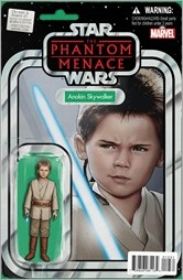 Obi Wan And Anakin #1 Cover - Christopher Action Figure Variant