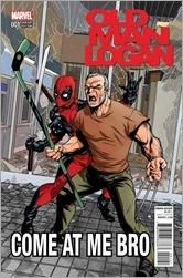 Old Man Logan #1 Cover - McKone Deadpool Variant