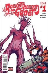 Rocket Raccoon & Groot #1 Cover