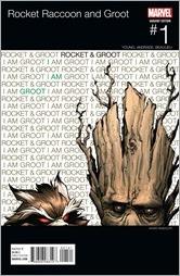 Rocket Raccoon & Groot #1 Cover - Randolph Hip-Hop Variant