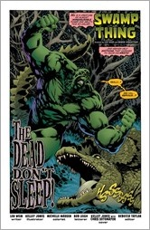 Swamp Thing #1 Preview 3