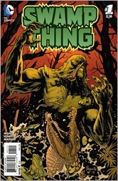 Swamp Thing #1 Cover - Paquette Variant