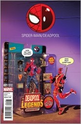Spider-Man/Deadpool #1 Cover - Action Figure Photo Variant