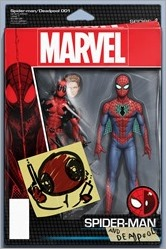 Spider-Man/Deadpool #1 Cover - Christopher Action Figure Variant