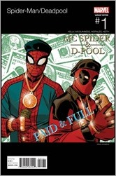Spider-Man/Deadpool #1 Cover - Johnson Hip-Hop Variant