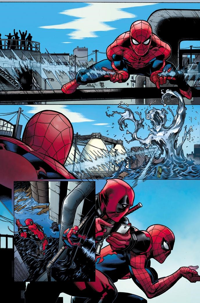 First Look At Spider Man Deadpool 1 By Kelly Amp Mcguinness