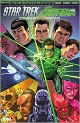 Star Trek/Green Lantern #6 Cover