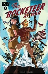 The Rocketeer At War! #1 Cover