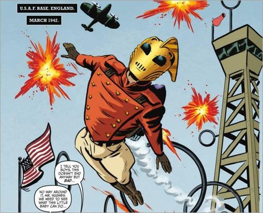 The Rocketeer At War! #1