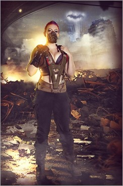 DC Doll as Bane (Photo by Randall Lloyd Photography)