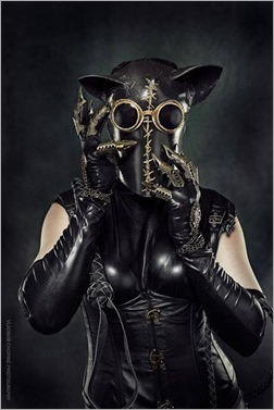 DC Doll as Steampunk Catwoman (Photo by Vladimir Chopine)