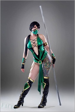 DC Doll as Jade from Mortal Combat (Photo by Faces Photography)