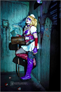DC Doll as Harley Quinn (Photo by JW Photography)