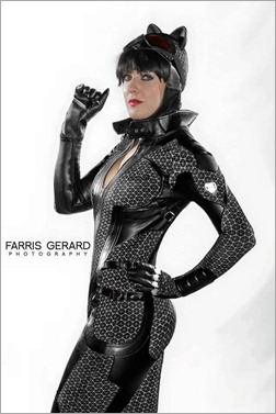 DC Doll as Catwoman (Photo by Farris Gerard Photography)