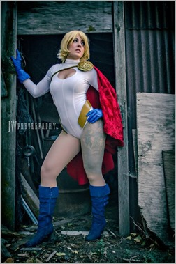 DC Doll as Supergirl (Photo by JW Photography)