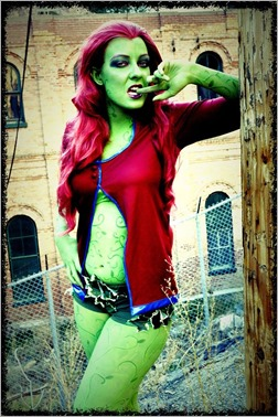 DC Doll as Poison Ivy (Photo by Nivi Da Vivi)