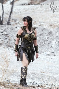DC Doll as Xena (Photo by C. Elizabeth Vescio)