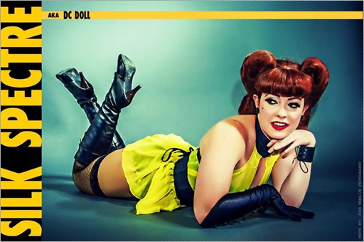 DC Doll as Sally Jupiter (Photo by JW Photography)