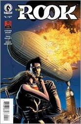 The Rook #4 Cover