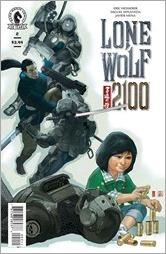 Lone Wolf 2100 #2 Cover
