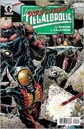 Leaving Megalopolis: Surviving Megalopolis #2 Cover
