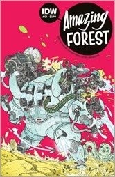 Amazing Forest #1 Cover - Farinas
