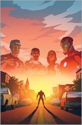 Avengers Standoff: Welcome to Pleasant Hill #1 Cover - Rhodes Variant