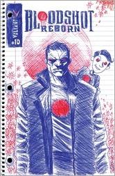 Bloodshot Reborn #10 Cover - Lemire Linewide Variant