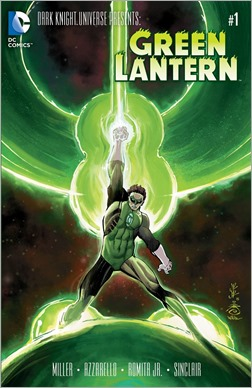 Dark Knight Universe Presents: Green Lantern Cover
