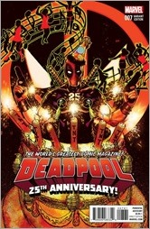 Deadpool #7 Cover - Harris Anniversary Variant