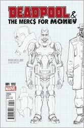 Deadpool and The Mercs For Money #1 Cover - Hawthorne Design Variant