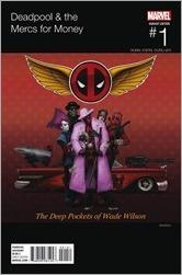 Deadpool and The Mercs For Money #1 Cover - Rahzzah Hip-Hop Variant