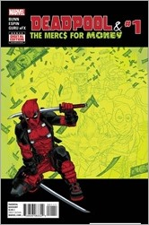 Deadpool and The Mercs For Money #1 Cover