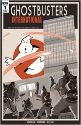 Ghostbusters International #1 Cover