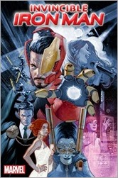 Invincible Iron Man #6 Cover - Tedesco Story Thus Far Variant