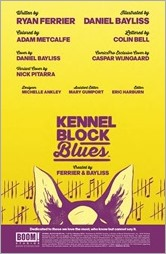 Kennel Block Blues #1 Preview 1