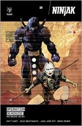 Ninjak #11 Cover B - Nord